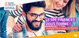 L'IT vous passionne ? Le SPF Finances vous forme !